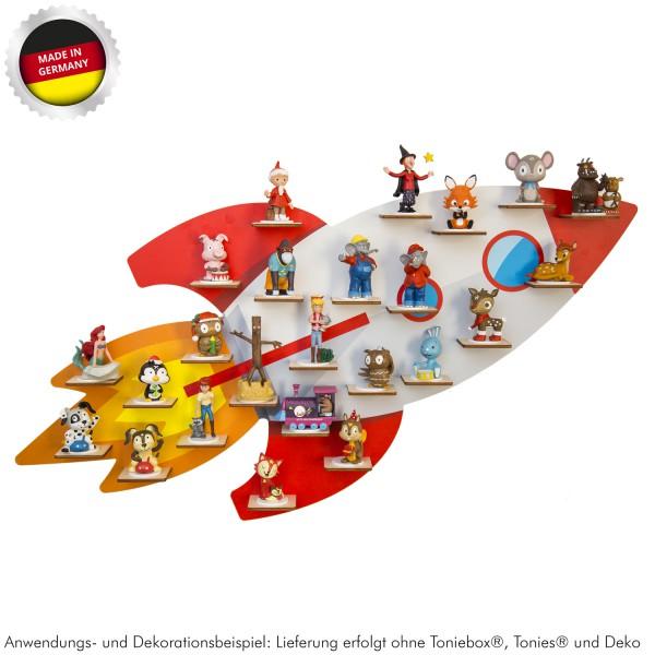 """Magnetisches Tonieregal """"Rakete"""" ideal geeignet für Tonies® Figuren und Toniebox® / Musikbox-Co-"""