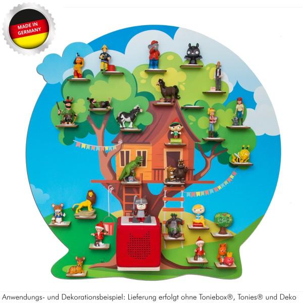 """Magnetisches Tonieregal """"Baumhaus"""" ideal geeignet für Tonies® Figuren und Toniebox® / Musikbox Regal"""