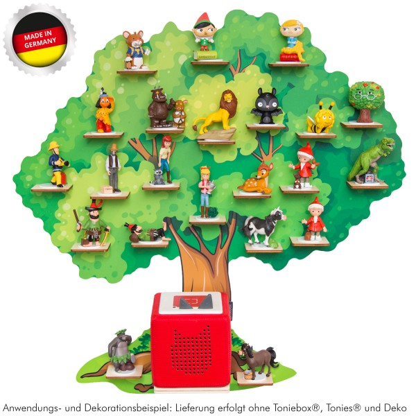 """Magnetisches Tonieregal """"Märchenbaum"""" ideal geeignet für Tonies® Figuren und Toniebox® / Musikbox-Co"""